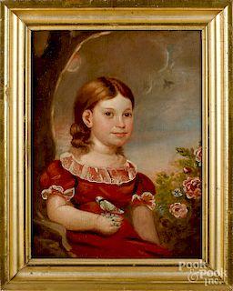 Connecticut oil on panel portrait
