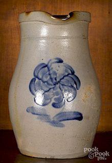 Harrisburg, Pennsylvania stoneware pitcher
