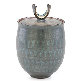 HARRISON McINTOSH Covered jar