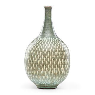 HARRISON McINTOSH Bulbous vase