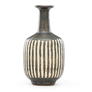 HARRISON McINTOSH Fluted vase