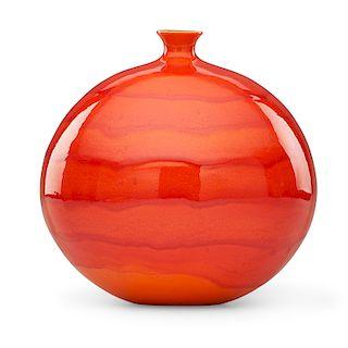 JAMES LOVERA Bulbous vase