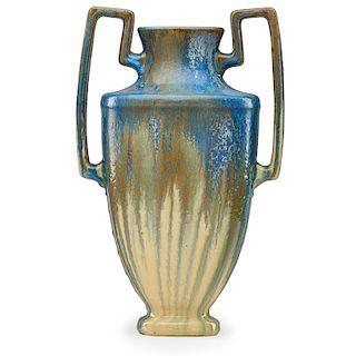 FULPER Large two-handled urn