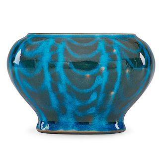 ARTHUR BAGGS; MARBLEHEAD Vase