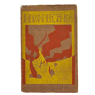 """JULIA MATTSON; UND Rare book, """"Indian Legends"""""""