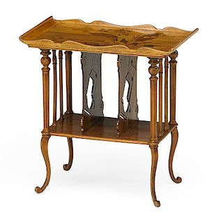 MAJORELLE (Attr.) Tiered table