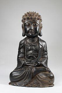 Ming Dynasty Rare Carved Stone Buddha