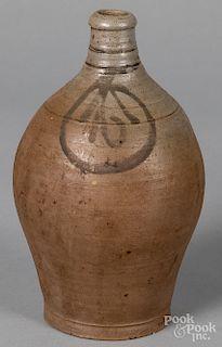 Small American stoneware jug