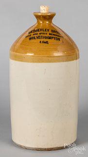 Pearson & Co. stoneware merchant's jug
