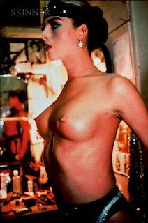 Nan Goldin (American, b. 1953)  Kim Harlow in the Dressing Room, Paris