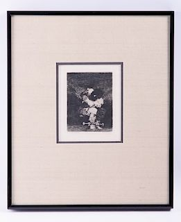 Francisco Goya Original Etching