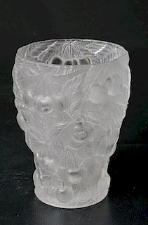 Josef Inwald Barolac Frosted Glass Vase
