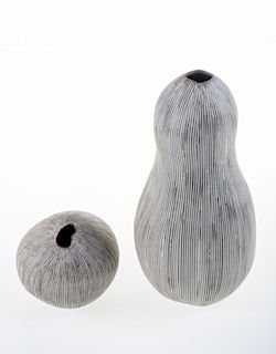 Gourd Form Pottery Vessels
