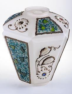 Arts & Crafts Glass Shade