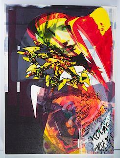 """Dennis Balk """"...Corner Piece..."""" Digital Canvas"""