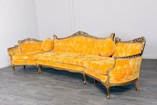 Venetian Style Sectional Sofa
