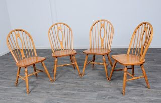 Bermex Windsor Style Side Chairs