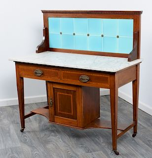 English Marble Top Washstand