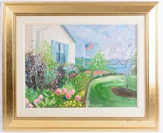 Carol Horgan Lesher Oil on Canvas
