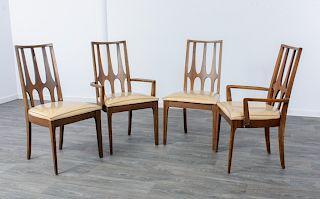 Broyhill Brasilia Mid Century Modern Dining Chairs
