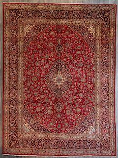 """Persian Mashad 9'9"""""""" x 13'2"""" Room Size Rug"""