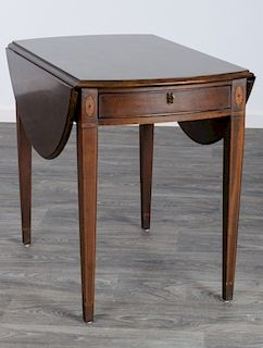 Henredon Mahogany Pembroke Table