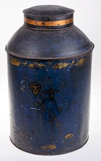 Toleware Store Tea Canister