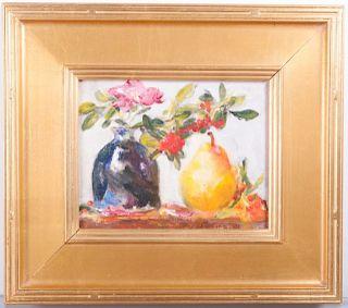Elizabeth James-Williams Still Life With Pear