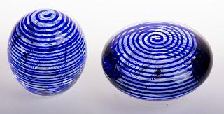 Jim Karg Art Glass Paperweights