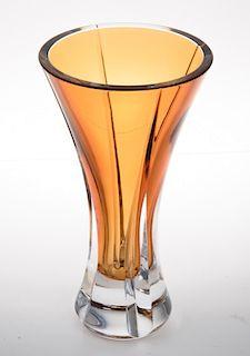 Waterford Crystal Amber Vase