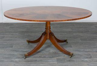English Georgian Style Tilt Top Breakfast Table