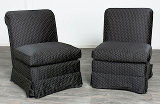 Mason-Art Upholstered Chairs Pair