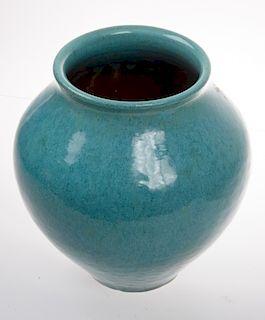Galloway Pottery Glazed Vase