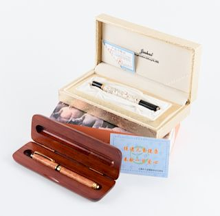 Crafted Ball Point & Fountain Pens