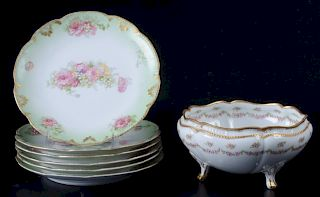 Limoges France Porcelain Set