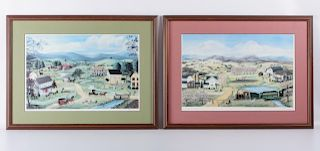 Mary Ann Vessey Artists Proof Lithographs