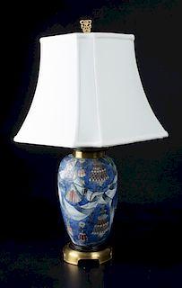 Oriental Style Ceramic Lamp
