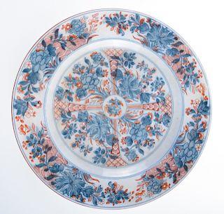 "Wedgwood ""Ningpo"" Pearlware Plate, Jan. 1863 Mark"