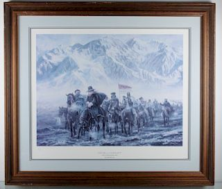 """Don Stivers """"Never A Complaint"""" #109/500, Signed"""