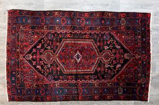 """Old Persian Zanjan 4'9' x 7'7"""" Area Rug"""