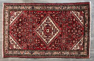 """Old Persian 3'6"""" x 5'6"""" Area Rug"""