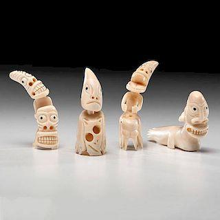 *Greenland Eskimo Walrus Ivory Tupilaks
