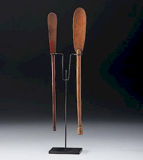 Tlingit Soapberry Spoons From the US Children's Museum on the 19th Century
