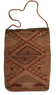 Plateau Corn Husk Bag From the US Children's Museum on the 19th Century