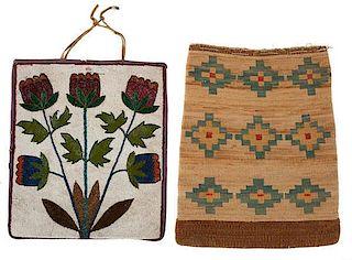 Plateau Corn Husk and Beaded Bags