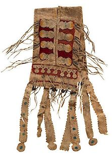 Apache Child's Hide Saddle Bags From the US Children's Museum on the 19th Century