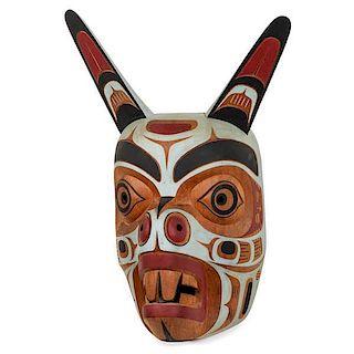 Tony Hunt Jr. (Kwakwaka'wakw, b. 1962) Kwagilth[sic] Mouse Mask