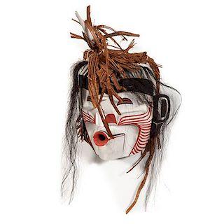 Pat Amos (Nuu-chah-nulth, b. 1957) Wild Man Mask