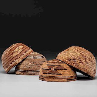 Northern California Basketry Hats