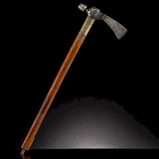 Plains Pipe Tomahawk with Brass Wrapping